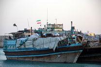 توقیف دو فروند لنج تجاری در پارسیان