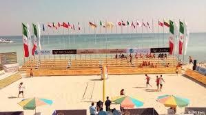 برگزاری مرحله نیمهنهایی تور جهانی والیبال ساحلی کیش