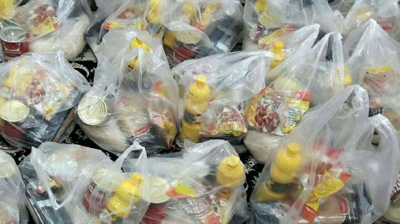 توزیع 313 بسته غذایی بین نیازمندان در ماه مبارک رمضان
