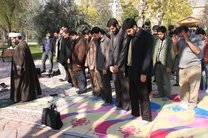 برگزاری نماز جماعت در مساجد بلامانع است