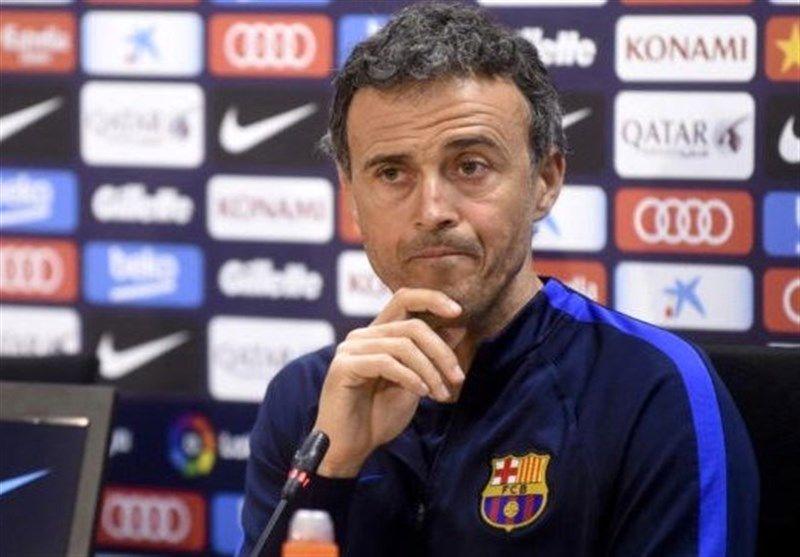 انریکه: اسپانیول را از پا درآوردیم/ پیروزی در دبی حق بارسلونا بود