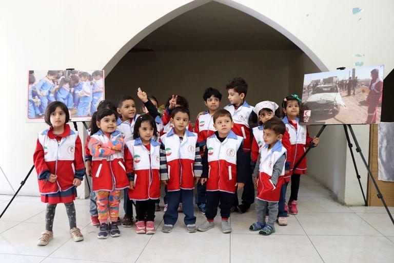 گردهمایی 400 نفره غنچه های هلال  همزمان با روز جهانی  کودک در اصفهان