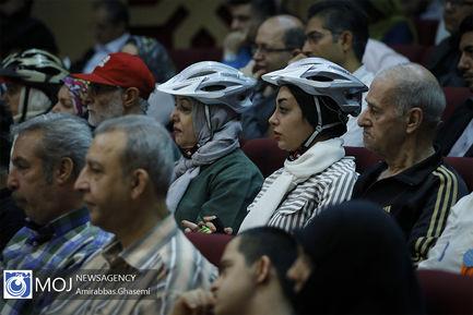 افتتاح دومین نمایشگاه دوچرخه شهری و حمل و نقل پاک