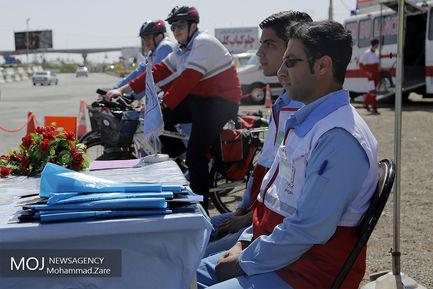 پایگاه خدمات نوروزی هلال احمر استان قم