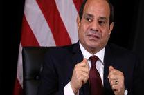 """رپیس جمهور مصر نسبت به تلاش ها برای """"در کنترل گرفتن لیبی"""" هشدار داد"""