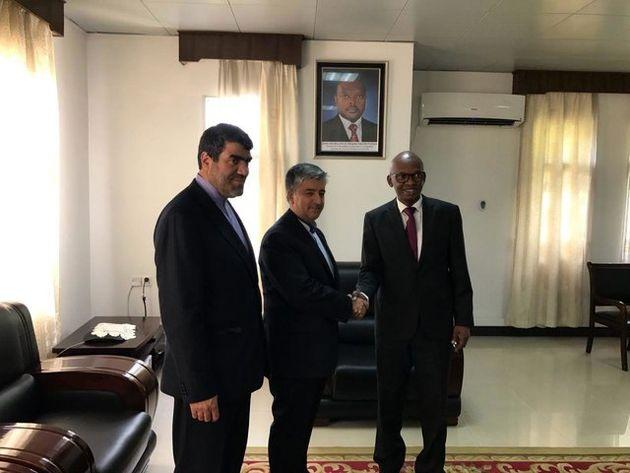 رایزنی مدیرکل آفریقای وزارت امور خارجه با وزیر خارجه بروندی
