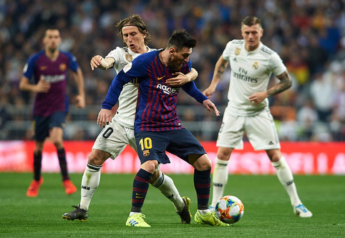 ساعت بازی بارسلونا و رئال مادرید مشخص شد