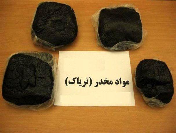 کشف ۱۰۰ کیلو و ۹۰۰ گرم تریاک در تهران
