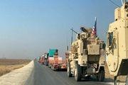 هدف قرار گرفتن کاروان لجستیک آمریکایی در عراق