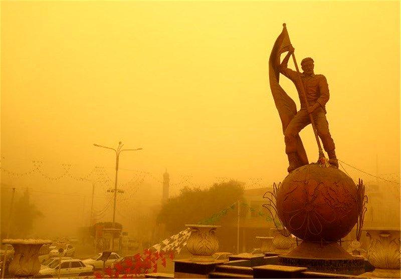 تداوم گرد و خاک عراقی در آسمان خوزستان