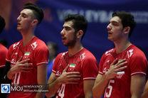 برنامه بازی های ایران در والیبال انتخابی المپیک