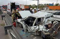 وقوع ۱۶ درصد تصادفات فوتی در بزرگراه آزادگان/ آزادگان یکی از نا ایمن ترین بزرگراههای شهر است