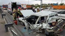 کاهش ۱۴ درصدی مرگ بر اثر حوادث ترافیکی در پاندمی کرونا