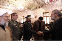 فرماندهان ارتش با لاریجانی دیدار کردند