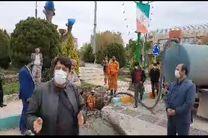 نجات 700 جریب زمین کشاورزی از خشکسالی در خمینی شهر