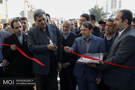 افتتاح+و+بهره+برداری+از+چندین+پروژه+شهری+با+حضور+شهردار+تهران