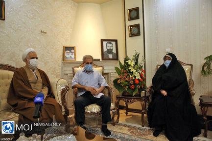 دیدار نمایندگان مقام معظم رهبری با جانبازان