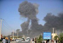 حمله انتحاری طالبان به یک مقر پلیس افغانستان