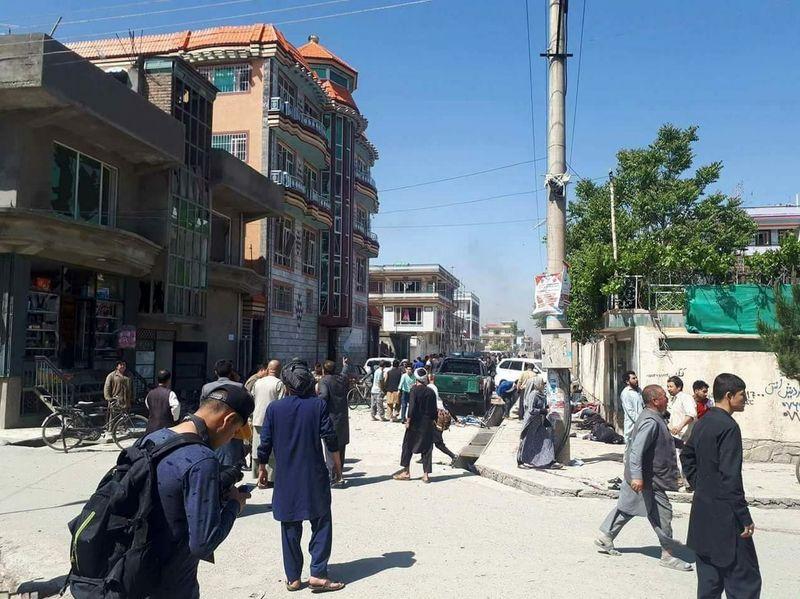 حمله انتحاری در منطقه شیعه نشین کابل