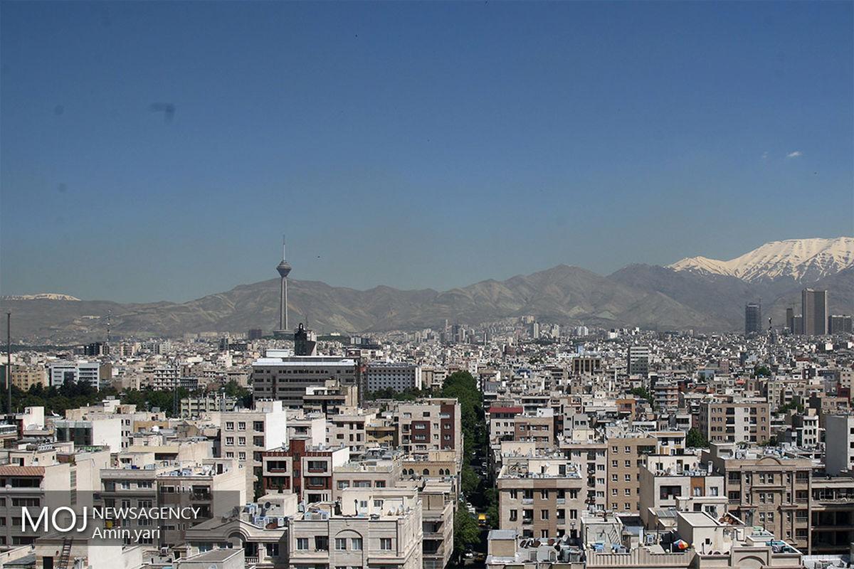 کیفیت هوای تهران ۸ فروردین ۱۴۰۰/ شاخص کیفیت هوا به ۳۹ رسید