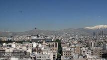 کیفیت هوای تهران ۳۱ اردیبهشت ۹۹/ شاخص کیفیت هوا به ۳۵ رسید