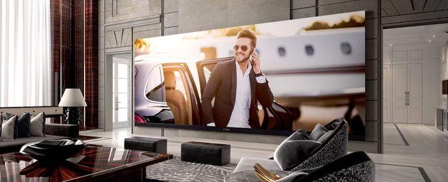 معرفی بزرگترین تلویزیون 4K دنیا
