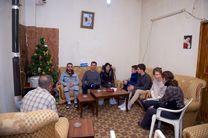 ملاقات بشار اسد و خانواده اش از یک سرباز مجروح سوری