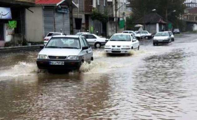 احتمال آبگرفتگی و سیلابی شدن مسیل ها در خراسان رضوی