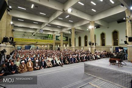 دیدار کارگزاران حج با مقام معظم رهبری