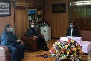 دیدار رئیس اتاق بازرگانی اصفهان و مدیرکل آموزشوپرورش