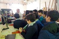 بازدید حدود 200 نفر دانش آموز دوره متوسطه از کارگاه های مهارتی