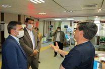 فرماندار یزد کمبود تجهیزات بیمارستان افشار یزد را بررسی کرد