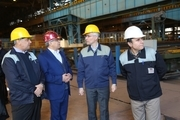 افزوده شدن محصولات صنعتی به سبد تولیدات شرکت ذوب آهن