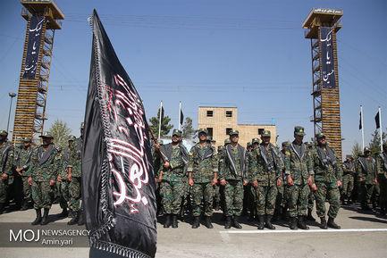 تجمع عاشوراییان یگانهای ویژه نیروی انتظامی