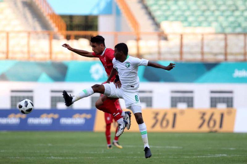 تساوی بدون گل  تیم ملی امید ایران و عربستان در نیمه نخست