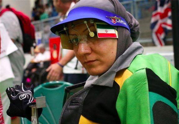 حضور بانوی لرستانی در مسابقات تیراندازی جامجهانی معلولین