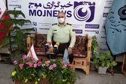 فرمانده انتظامی استان اصفهان از دفتر خبرگزاری موج اصفهان بازدید کرد
