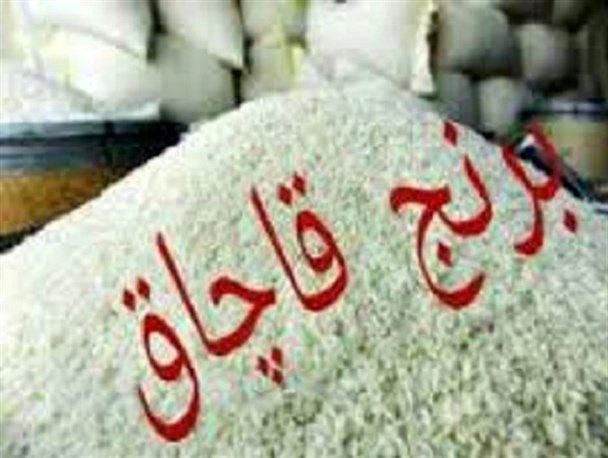 کشف بیش از 11 تن برنج خارجی قاچاق در اردستان
