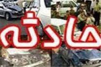 پنج مصدوم براثر واژگونی خودرو در مسیر اصفهان-تودشک