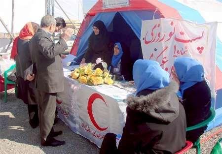 خدمت رسانی هلال احمر اصفهان به بیش از 80 هزار مسافر در ایام نوروز