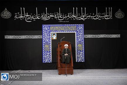 عزاداری شب هفتم ماه محرم با حضور رهبر معظم انقلاب اسلامی