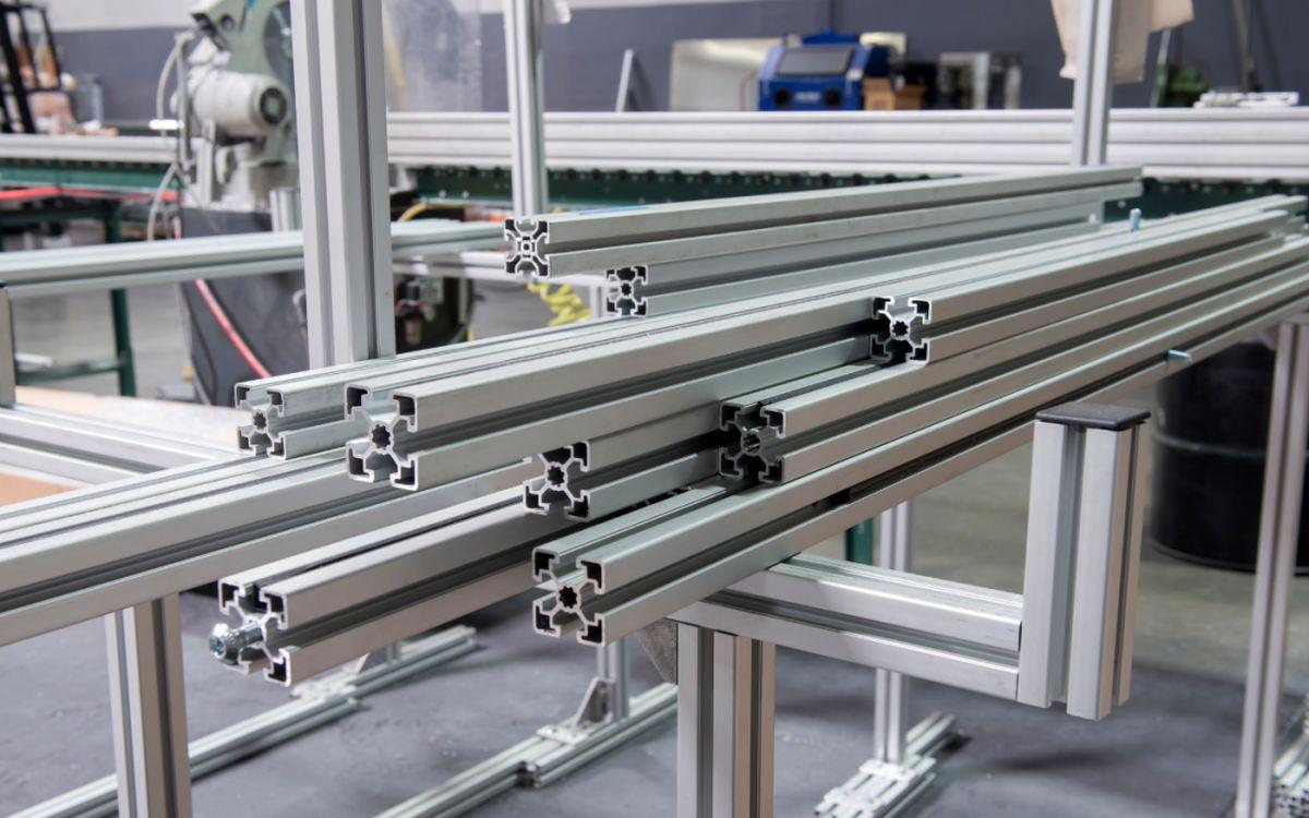 پروفیل آلومینیوم در انواع مختلف از تولید تا فروش