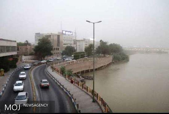 گرد و غبار دوباره بر خوزستان سایه افکند