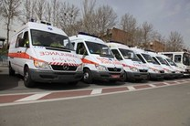 تحویل 9 دستگاه آمبولانس به ناوگان اورژانس مازندران