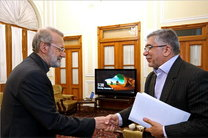 محورهای گفت و گوی دیدار لاریجانی با رئیس جهاد دانشگاهی