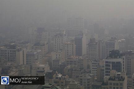 آلودگی+هوای+تهران
