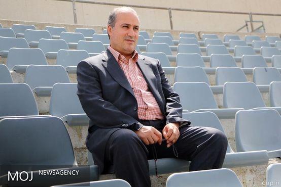 جلسه مسئولان سرخابی در مورد بلیت فروشی با حضور منصوریان