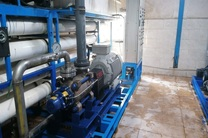 نصب اولین هایپر پمپ طبقاتی شیرین سازی آب دریا در جزیره هرمز