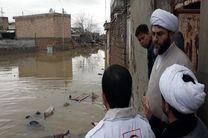 حضور روحانیت در کمپها و بیمارستانهایی که مصدومان و حادثه دیدگان هستند