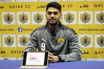 ابراز رضایت علی کریمی از حضور در تیم اف سی قطر